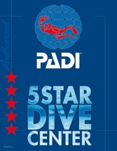 PADI 5 Star Dive Center