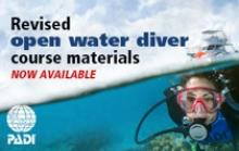 Revised PADI Open Water Course